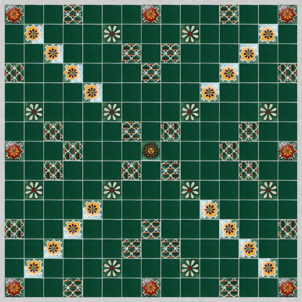 Scrabble Pattern -Mock