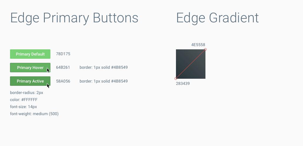 specs-Edge UI Guidelines